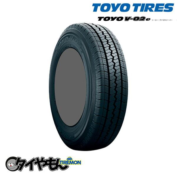 トーヨータイヤV-02EV02195/70R15新品タイヤ1本価格バン商用車TOYOサマータイヤ安い価格195/70-15106