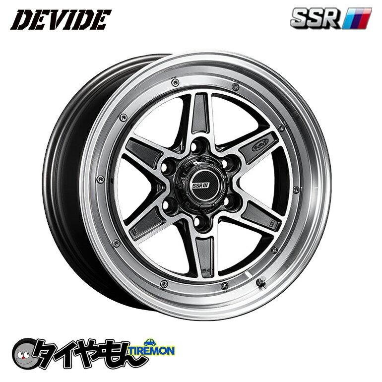 タイヤ・ホイールセット, サマータイヤ・ホイールセット  SSR DEVIDE MK-6 17 6H139.7 6.5J 6 OG20 21560R17 21560-17 200 NV350