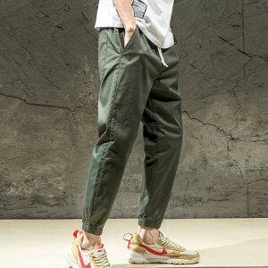 ジョガーパンツ ストリート系 ロングパンツ メンズ サルエルパンツ テーパードパンツ アンクルパンツ ワイドパンツ サルエル クロップドパンツ リラックス送料無料
