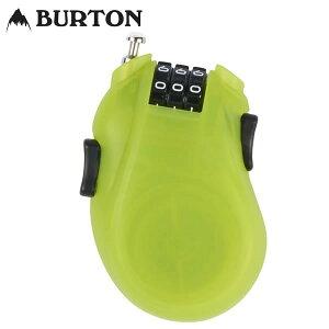「全品5倍 20日23:59迄」18-19 BURTON ケーブルロック Cable Lock 10802102: Lime 正規品/カギ/鍵/ワイヤー/バートン/スノーボード/snow/2017/スノボ