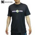 【ゆうパケット】19SS DC SHOES ラッシュガードTシャツ UPON REQUEST UVSS 5226j909: BLK 国内正規品/メンズ/半袖/surf