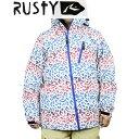 15 ラスティ RUSTY JACKET #984300 : WBL スノーボードウェア ジャケット 982-306【cat-snow】【メンズ】ラスティー
