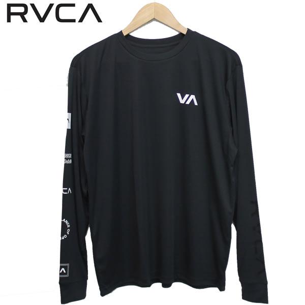 【ゆうパケット】20SS RVCA ラッシュガード ALL OUT RVCA LS ba041-850: 正規品/ルーカ/ルカ/メンズ/長袖Tシャツ/ba041850/surf画像