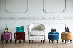 マカロンスツールオットマンアンティーク北欧姫プリンセス家具姫系ロマンチック送料無料アンティーク風かわいいおしゃれヨーロッパインテリアいす座椅子椅子イスドレッサー送料込送料無料