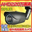 防犯カメラ AHD 220万画素 送料無料 屋外防雨型カメラ(2.8〜12mm) RD-CA213