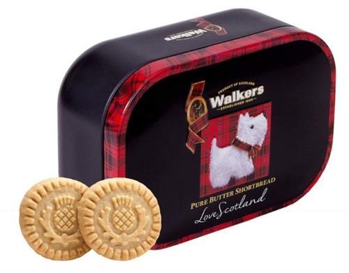 ウォーカー『ショートブレッド スコッティドッグミニチュア缶』