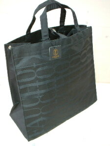 フォション・Shopping Tote Bag Black&Black