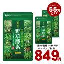 クーポンで55%OFF849円★野草酵素 約5ヵ月分/ ダイ...
