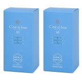 2箱セット セ・シ・ボン 180粒 (90粒×2箱) 2〜3ヶ月分 健康ラボ セシボン ストレス セロトニン サプリ Cest si bon