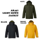 AK457【エーケー457】2016☆AK457 LIGHT DOWN JACKET【正規品】