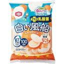 亀田製菓 白い風船ミルククリーム 18枚入×12個 その1