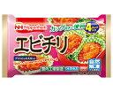 【送料無料】日本ハムエビチリ4個×15袋(1ケース) 【冷凍】