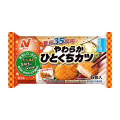 ニチレイ やわらかひとくちカツ (6コ入)
