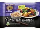 日本製粉五目ごはんと鶏肉と野菜の黒酢あん300g×12袋【送料無料】【冷凍食品】