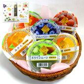 まるごと果樹園フルーツゼリー12個入送料無料