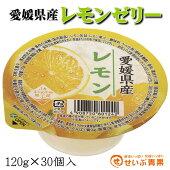 愛媛県産レモンゼリー30個送料無料(一部地域を除く)