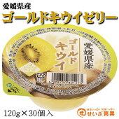 愛媛県産ゴールドキウイゼリー30個入