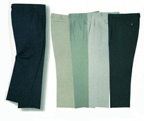 快適なストレッチ素材のツータックパンツ【作業ズボン】【ビッグボーン商事 861】