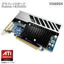 【中古】 未使用 PCI-Express V540D5H グラフィックボード ATI AMD Radeon HD5450 ビデオカード グラフィックカード 512MB DDR2 ファン..