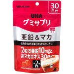 UHAグミサプリ亜鉛&マカコーラ味スタンドパウチ60粒約30日分【3990円以上送料無料】
