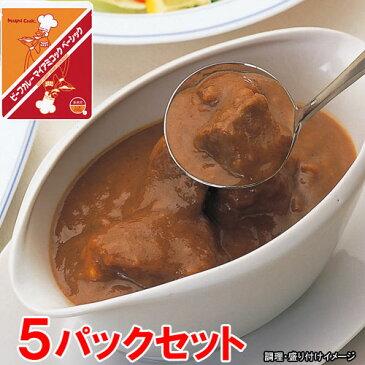 【Miyajima】 業務用 ビーフカレー マイアミコックベーシック 5食セット (昭和40年代の昔懐かしい味を再現!) 【レトルト食品】【jo_62】 【】