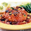 【MCC】業務用トマトソースdeハンバーグ1個(180g)(エムシーシー食品)【冷凍食品】【re_26】【】