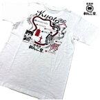 tシャツ メンズ 半袖 大きいサイズ◆黒柴印 和んこ堂 のTシャツ◆綿100%の天然素材 スラブ天竺◆GDW2309M