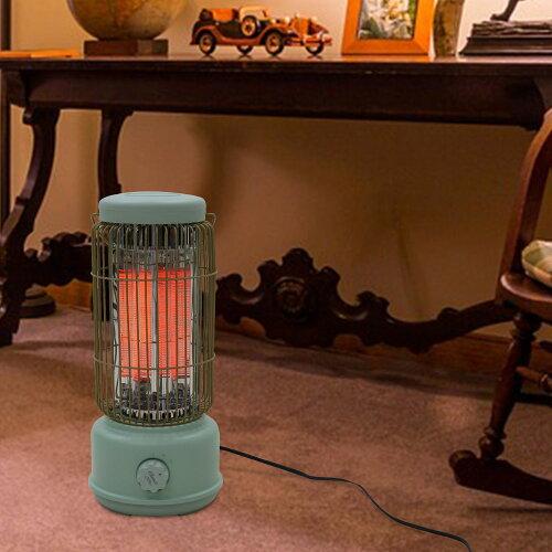 レトロカーボンヒータークラシック スリーアップシンプルストーブ足元ヒーター安全装置付き冬家電暖房家電暖房機防寒あったか