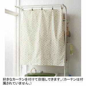 ポイント10倍デザイン洗濯機ラックADRA棚3段(zacca)ハンガー収納ラック洗濯機タオル狭い【大型】