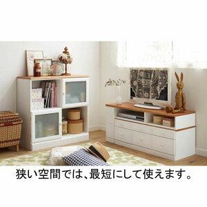 引出しいっぱい伸縮テレビ台A(zacca)【直送】