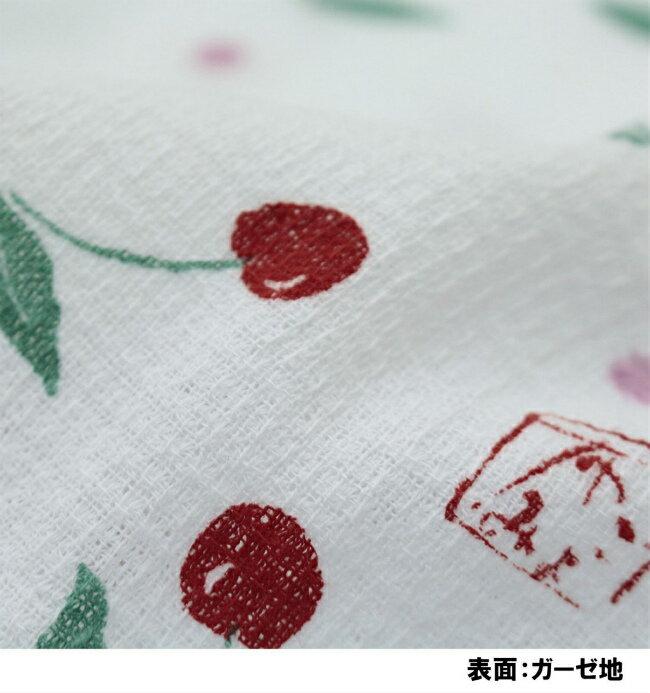 今治産タオルフェイスタオル布ごよみさくらんぼ33×100cm