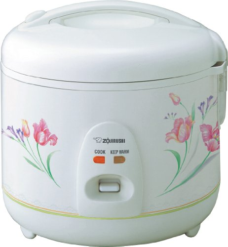 【Zojirushi NSRNC10FZ Automatic Rice Cooker and Warmer 5.5-Cup/1.0-Liter Spring Bouquet by Z...