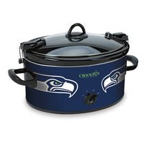 【Official NFL Crock-pot Cook & Carry 6 Quart Slow Cooker - (Seattle Seahawks) by Crock-...