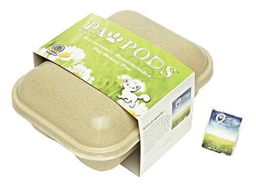 【Paw Pods Biodegradable Pet Casket Medium Pod by Paw Pods】 Paw Pods Biodegradable Pet Casket Medium Pod by Paw Pods    b00ct6m7eu