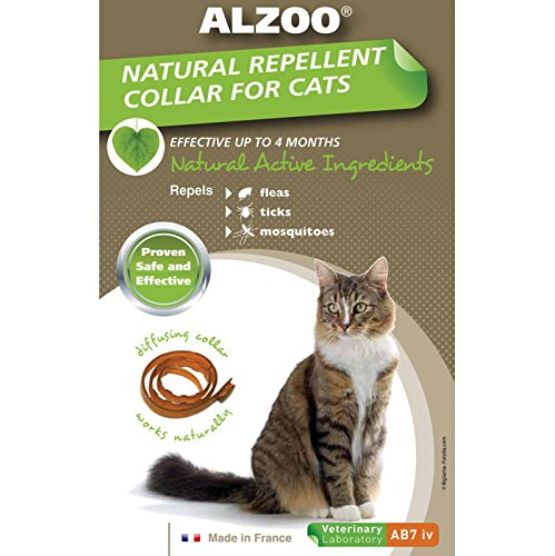 【Alzoo Diffusing Cat Collar - One Size by Alzoo】 Alzoo Diffusing Cat Collar - One Size by Alzoo b00cq72nfa
