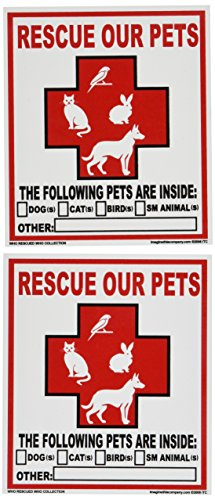 【Imagine This Pet Rescue Decal Sticker by Imagine This】 Imagine This Pet Rescue Decal Sticker by Imagine This b00fdlc2i4