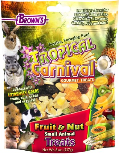 【F.M.Brown's Tropical Carnival Fruit & Nut Small Animal Treat 8 oz by F.M. Brown's】 F.M.Brown's Tropical Carnival Fruit & Nut Small Animal Treat 8 oz by F.M. Brown's b00h0clqb8