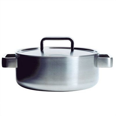 【Tools 2-Qt. Stainless Steel Round Casserole by Iittala [並行輸入品]】:生活総合倉庫