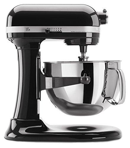 【KitchenAid スタンドミキサー プロ6シリーズ KP26M1XOB Professional 600 Series 6-Quart Stand Mixer  Black 並行輸入品】:生活総合倉庫