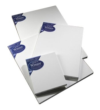 【Winsor Newton Stretched Art Cotton Canvas 24 inch x 30 inch Twin-Pack Box of 2 Canvases by...
