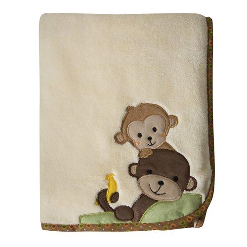 【Bedtime Originals Curly Tails Blanket by Lambs   Ivy (English Manual)】     b004q2lzj8:生活総合倉庫