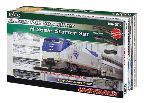 【■【KATO/カトー】(106-0017)P42 スーパーライナー Amtrak Phase IVb スターターセット 鉄道模型 外国車両 Nゲージ】     b005nmh1fm:生活総合倉庫