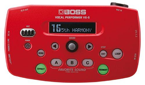 【BOSS ボス Vocal Performer レッド VE-5-RD】     b008drala6:生活総合倉庫
