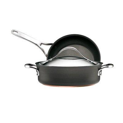 【3ピース調理器具セット Cookware Set ブラック 82889】     b00agkgt9u:生活総合倉庫