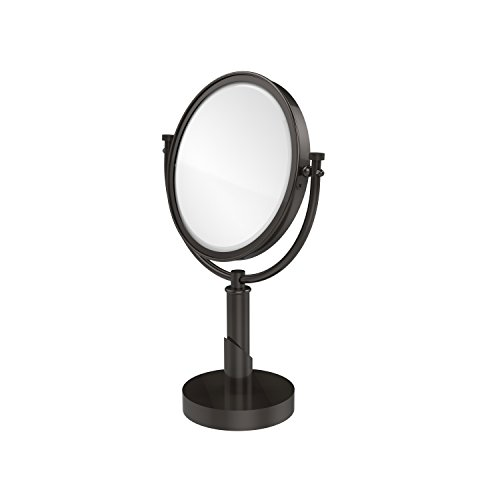 【Allied Brass TR-4/5X-ORB Table Mirror with 5X Magnification  Oil Rubbed Bronze by Allied Brass】:生活総合倉庫