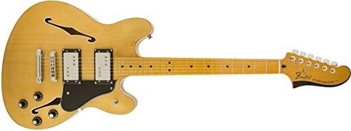 【Fender フェンダー エレキギター FENDER STARCASTER MN NAT】     b00ej3hvf6:生活総合倉庫