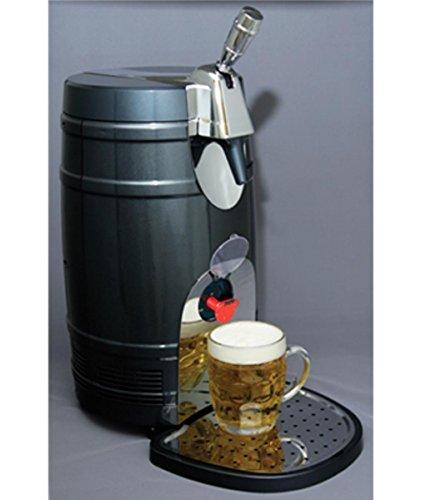 【ご自宅でおいしいビールが飲める★KTB05BN ビールサーバー(5L) Koolatron社 Silver【並行輸入】】:生活総合倉庫