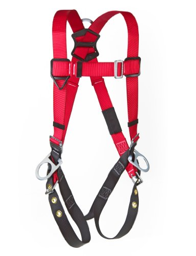 【3M Protecta PRO 1191246 Fall Protection Full Body Harness Back And Side D-Rings Tongue Buc...