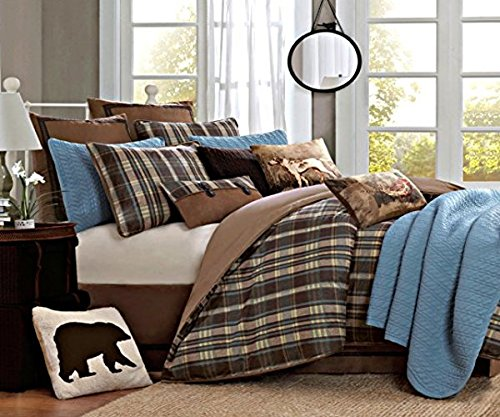 【Woolrich Hadley Plaid Comforter Set  Queen  Multicolor by Woolrich】:生活総合倉庫