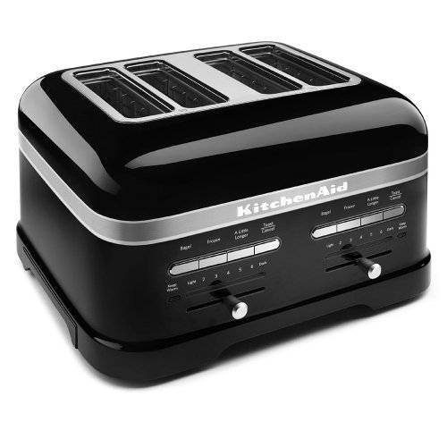 【KMT4203OB プロライン トースター(4スライス) KitchenAid社 Onyx Black【並行輸入】】:生活総合倉庫